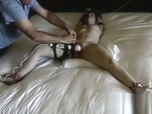 Slavery loving slut relishes when her man thongs her tight