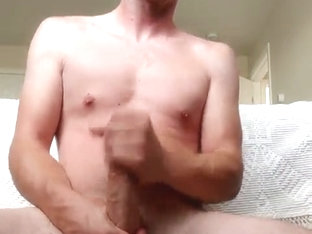 Handsome Guy Masturbating