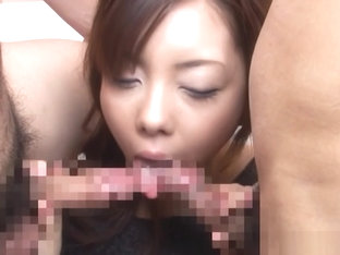 Maki Mizusawa naughty Asian milf gets fucked and facialed