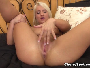 Best pornstar Cali Carter in Fabulous Masturbation, Blonde adult movie