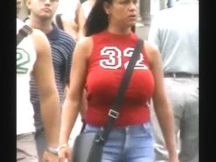 Big Huge Bouncing Boobs Hard Nipples