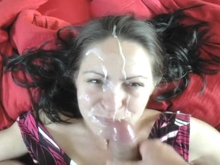 German Beauty Gives Head and Gets a Facial