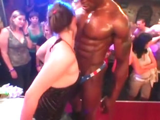 NIGHTCLUB WHORES SUCK & FUCK MALE STRIPPERS 28