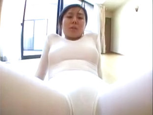 Provocative Japanese Ballerina Putting Her Lovely Curves On