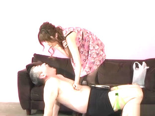 MLDO-136 Human furniture being broken