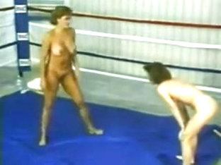 Retro Naked Wrestling