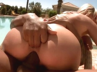 Nasty blonde girls get fucked by black men