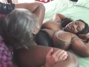 Ebony Teen Loves To Suck And Fuck Older White Guy