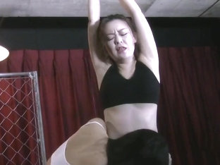 Asian belly slave lick and kissing erotic