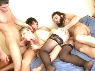 Crazy Homemade movie with Gangbang, Fetish scenes