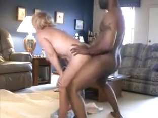 A cougar girl makes sex with...