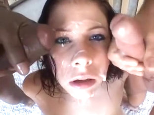 Another Bukkake For Gianna Michaels