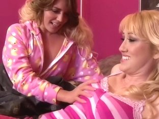 Alana Evans and Casey Stone