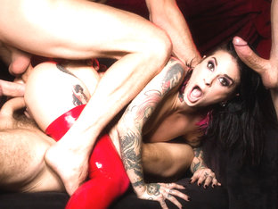 Joanna Angel & Bill Bailey in Joanna Angel Gangbang - As Above So Below Part 2, Scene #01 - Burnin.