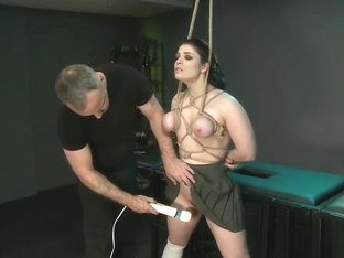 Lucia Love Teen Anal Hook Bondage Sex Part 1 (part 2 TeenPornMaster.com)