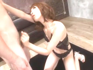 Crazy Japanese whore An Mashiro in Amazing Couple, Lingerie JAV video