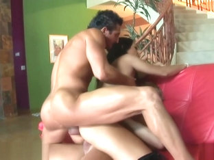 nice-looking Carmella Bing Enjoys And butthole trio With DP