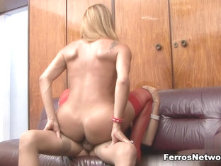 ShemalesFuckShemales Video: Patricia B and Yasmin
