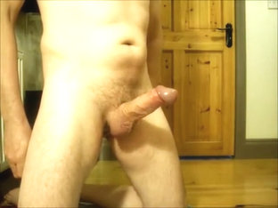 Edging my Cock and relishing the Cum Denial.