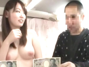 Amazing Japanese chick Rio Takahashi, Chisato Ayukawa in Crazy Threesome, Amateur JAV clip