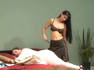 Girl Spanked and Fucked