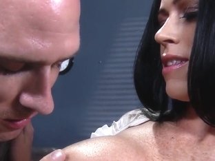 Aryana Augustine plays with dong of Johnny Sins