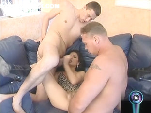 Hot Janet Joy Screwed Hard In Both Of Her Tight Holes