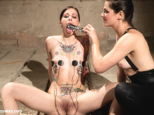 Krysta Kaos & Bobbi Starr in There Is Nothing Keeping You From Running. - Electrosluts