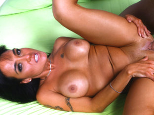 Mahina Zaltana Is A Nympho Who Can't Wait To Spread - RealLatinaExposed