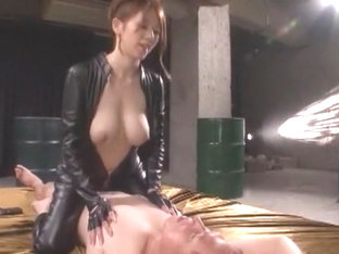Fabulous Japanese chick Maki Koizumi in Hottest Cunnilingus, Fetish JAV video