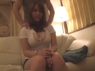 Horny Japanese chick Kazuha Mukai in Incredible Lingerie, Couple JAV movie