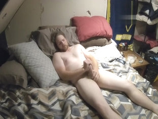 Trucker Dad Jerking His FAT COCK