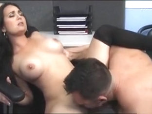 Quick Office Fuck With Sweet Tits Babe Holly West