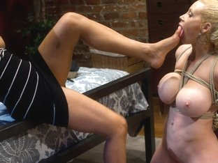 Horny lesbian, fetish adult clip with amazing pornstars Candy Manson and Isis Love from Whippedass