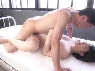 Hottest Japanese chick Ai Uehara in Horny oldie, gangbang JAV movie