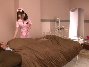Nurse Gives A Sponge Bath And More