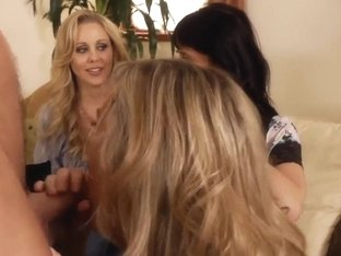Cum in my big and filthy mouth with Brandi Love