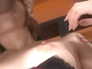 Ena Ouka Japanese Babe 6 of 8 Irrumation and Facial