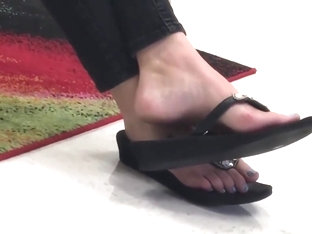 Milf Teacher Candid Feet Part 2