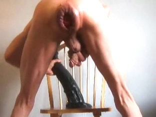 Giant Ass Fuck with a ******and Walrus Penis and Fist