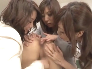Fabulous Japanese whore Mirei Yokoyama, Hinata Komine, Nachi Sakaki in Best Group Sex JAV movie