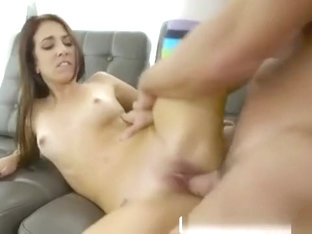 Sexy Brunette Aubrey Rose Rides Hard And Sucks Off