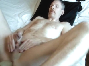 Sucking my dildo dry after taking it deep in my wet ass