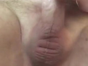 pegging prostate with a huge dildo and huge hot