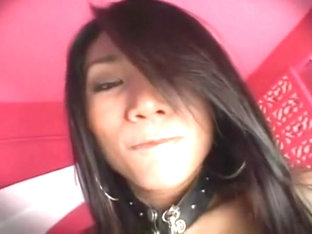 Asian transsexual - spunk