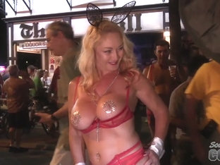 Fantasy Fest 2016 Street Footage Of Hot Girls Naked On The Streets Of Key West Florida - SouthBeac.