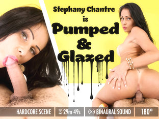 Stephany Chantre in Pumped & Glazed - GroobyVR