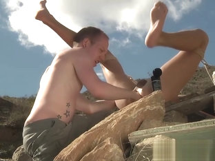 Sean gets really dirty with Justins asshole outdoor