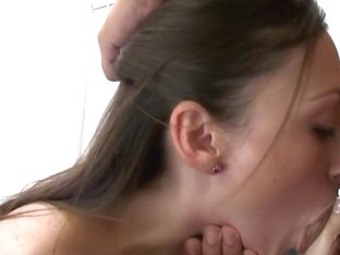 Newbie gets a nice facial