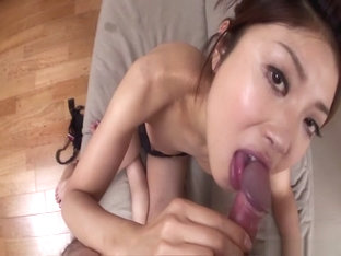 Best Japanese slut Mafuyu Hanasaki in Crazy JAV uncensored Blowjob video